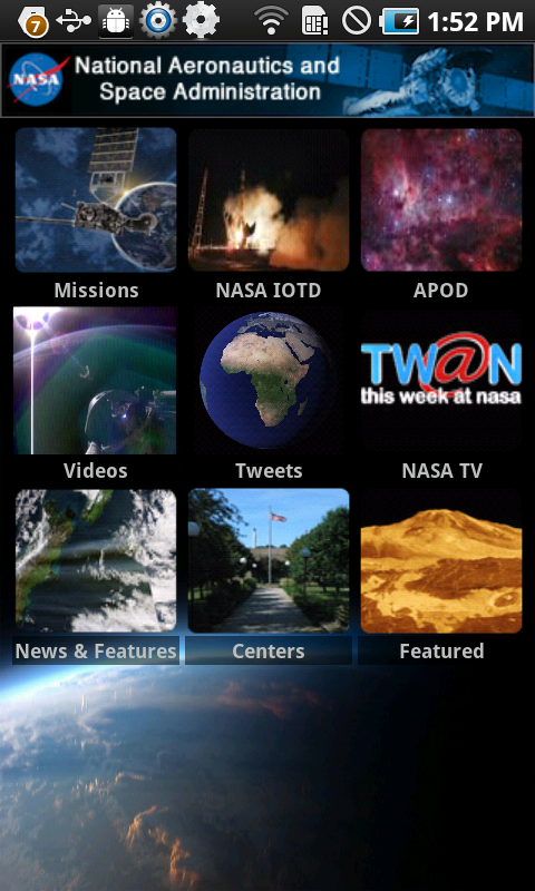 NASA - NASA App for Android is Now Available