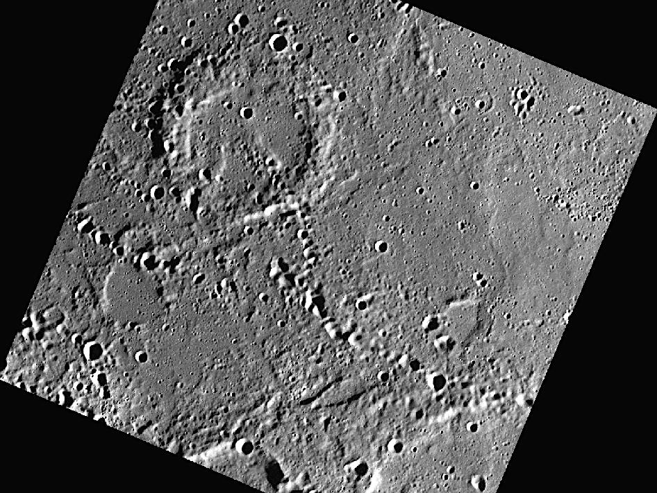 Image from Orbit of Mercury: Plains and Chains