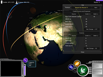 screenshot of NetworKing game