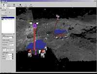 Viz view of rover start point