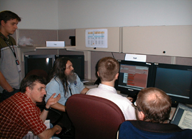 scientists working with MAPGEN