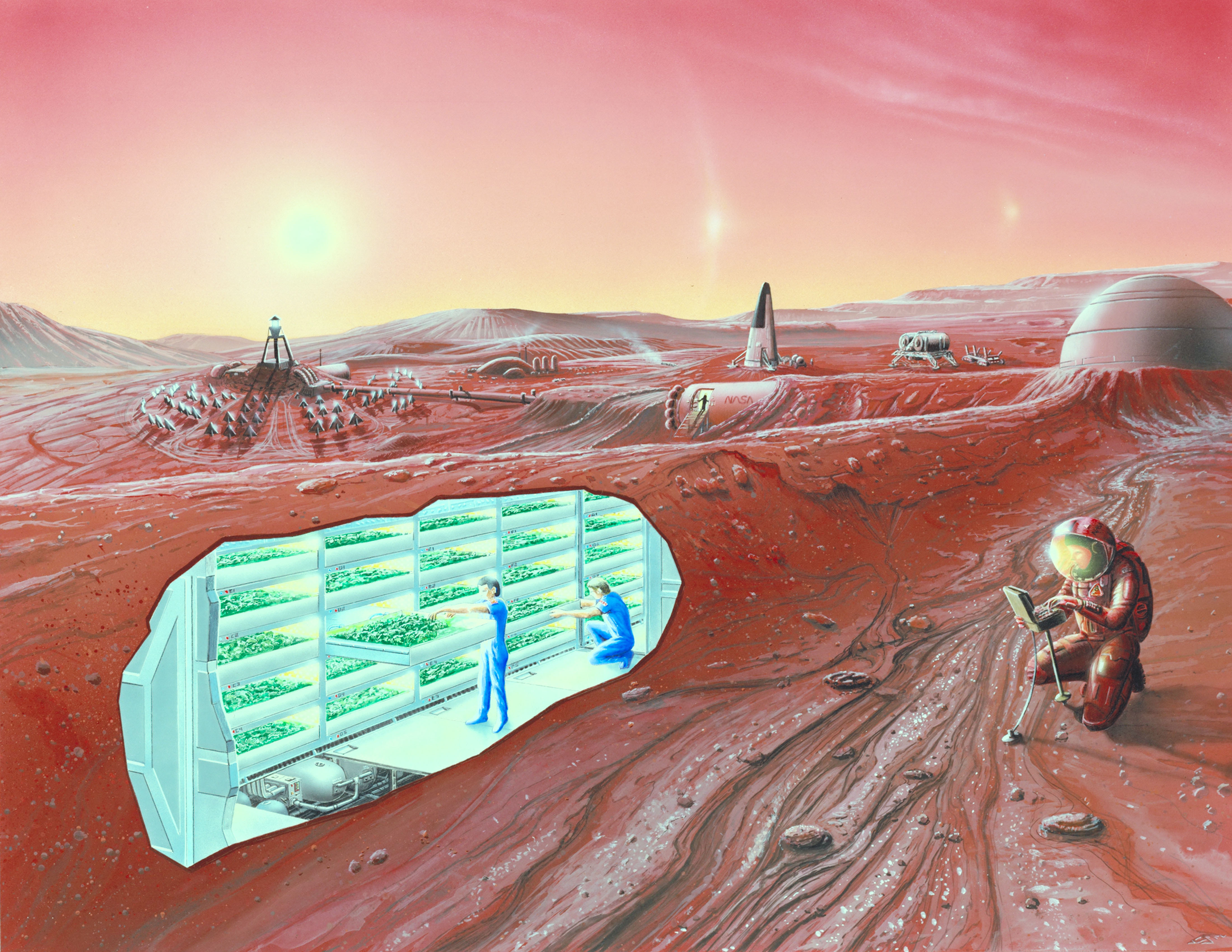 mission to mars concept art - photo #22