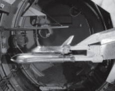 3.5-foot hypersonic wind tunnel