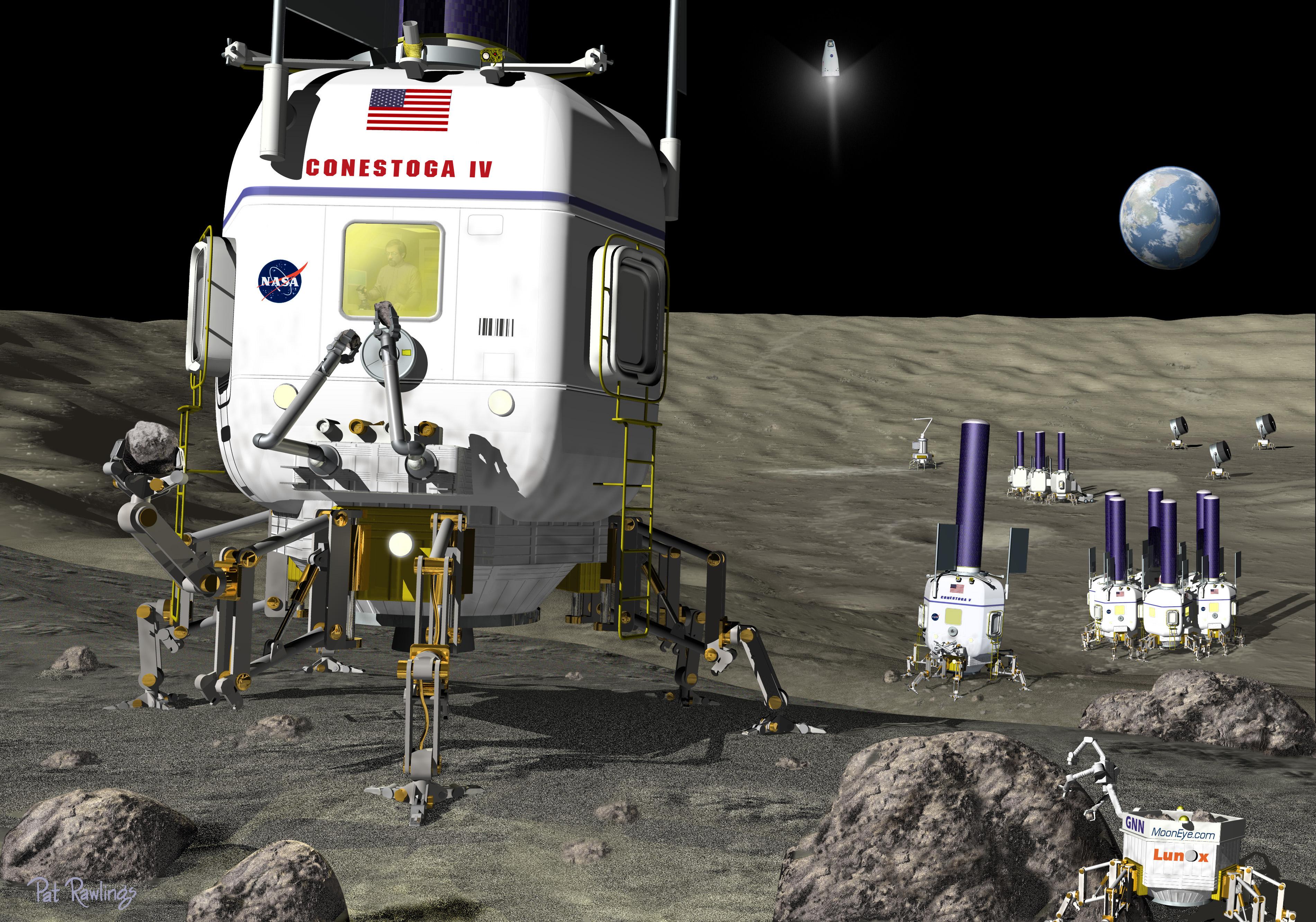 future moon exploration - photo #39