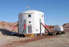 The Mars Desert Research Station.