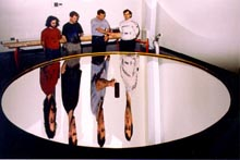 3.7-m diameter liquid mirror at Laval University