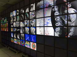 MOFFETT FIELD, Calif. – The power to visualize highly complex information in a way that's easier for the human mind to grasp is taking a giant leap forward with the advent of NASA's new hyperwall-2 system unveiled today at Ames Research Center.
