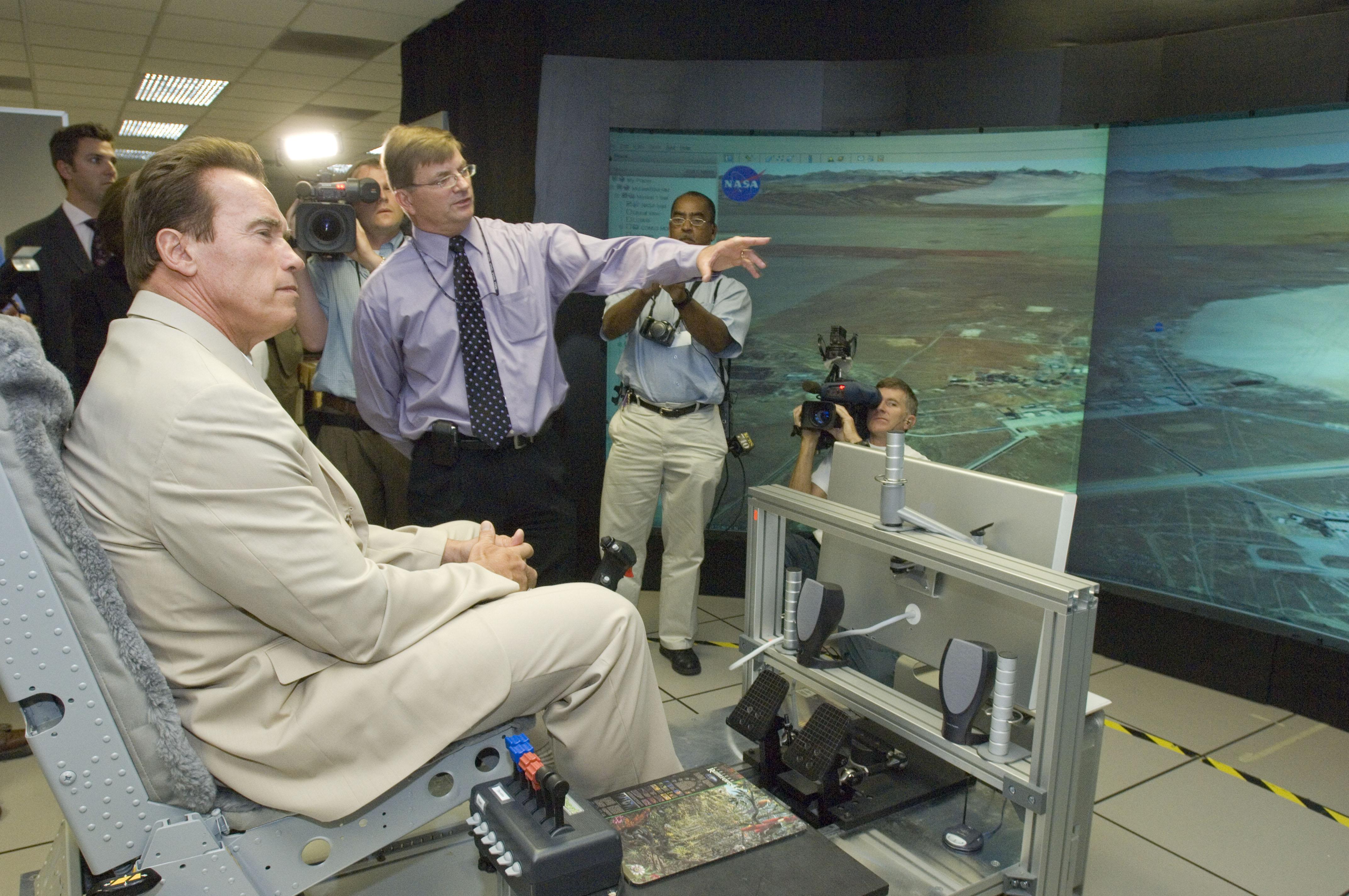 astronaut flight simulator - photo #27