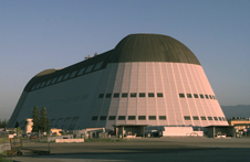 Image of Hangar One at Moffett Field, Calif., taken in 1999.