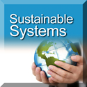 Sustainable Systems button