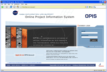 OPIS website pic