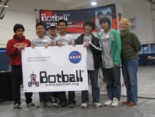 Image of people at Botball.