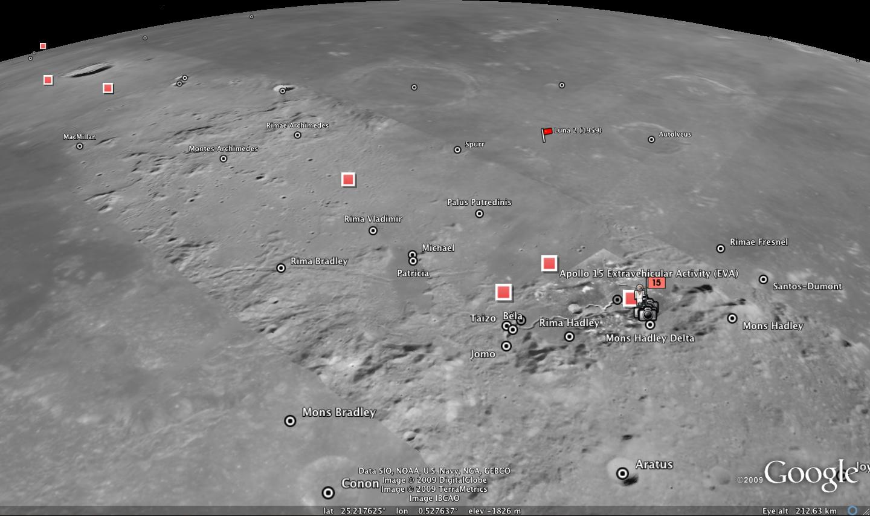 NASA  NASA and Google Launch Virtual Exploration of the Moon