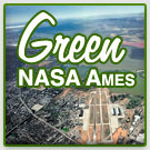 Green Ames button