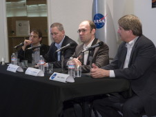 Entrepreneurial Space Business panel discussion