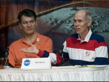 Paolo Nespoli and Dan Barry