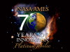 Logo for NASA Ames' 70th anniversary celebration