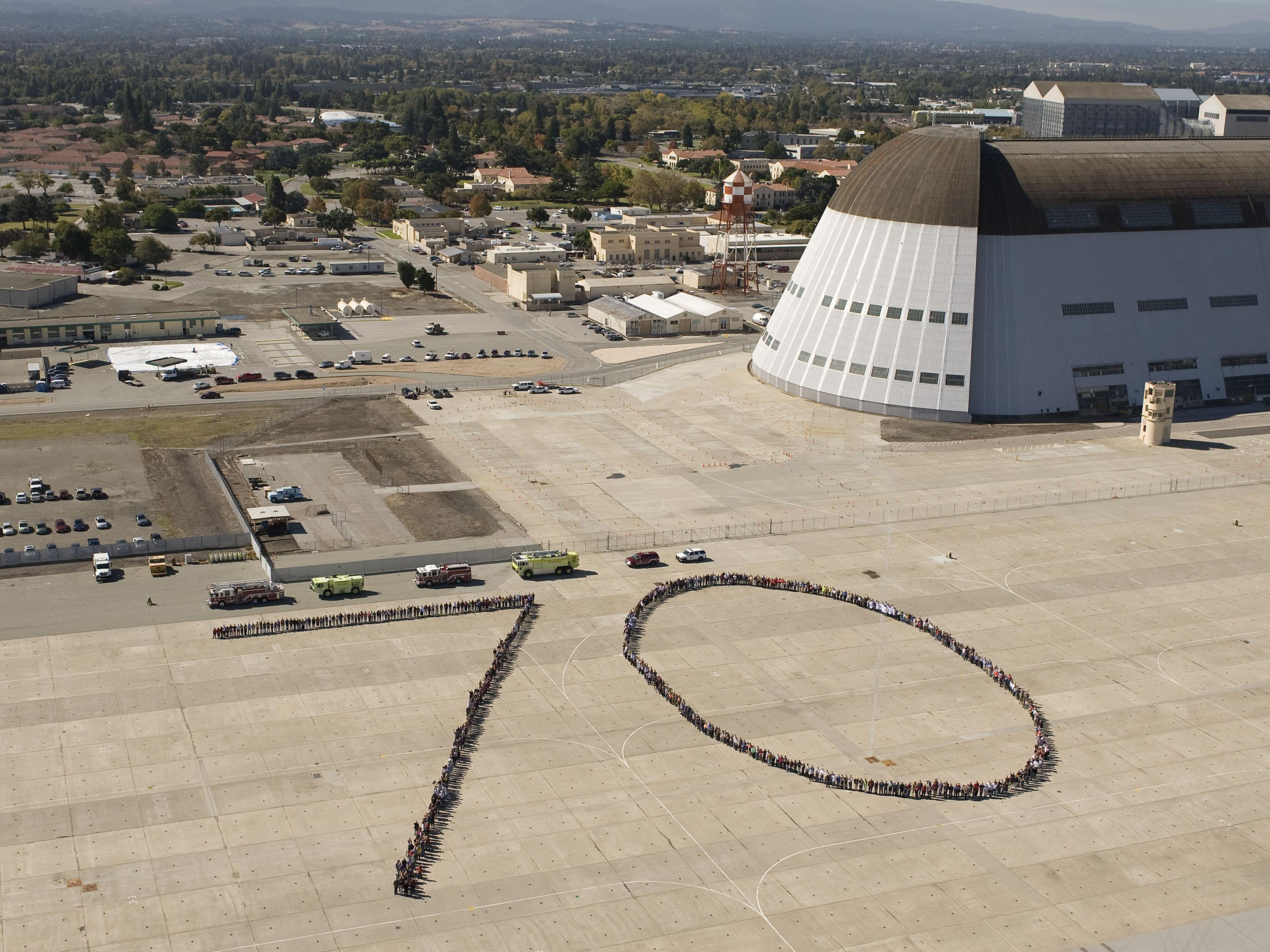 NASA's Ames Research Center employees formed a