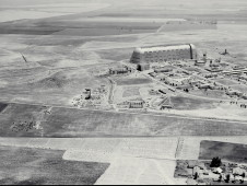 May 21, 1940 Army Air Photo General view looking east at Ames' construction progress.
