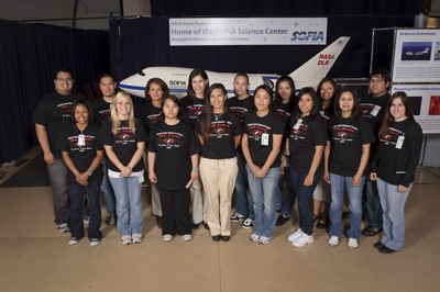 Image of AMES 2009 PSTI participants.
