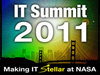 Graphic for the NASA IT Summit