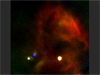 A new image from NASA's Stratospheric Observatory for Infrared Astronomy, or SOFIA, provides the highest resolution mid-infrared image taken to-date of the massive star formation region in our galaxy known as W40.