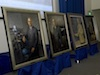 Portraits of each of the inductees were commissioned in their honor.