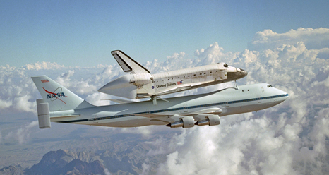 where is endeavour space shuttle right now - photo #49