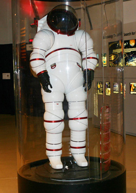 NASA Space Suit Exhibit