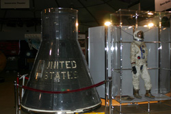 Gemini Capsule and space suit