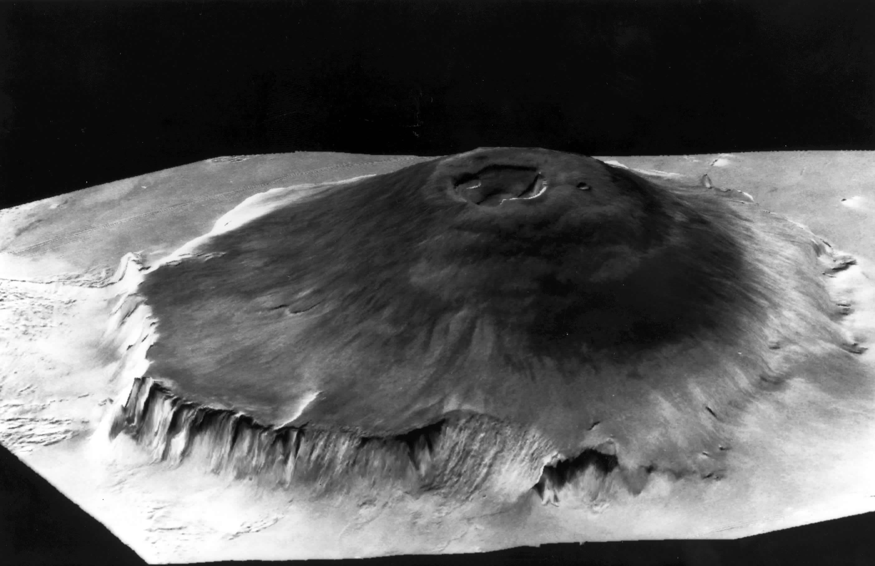 nasa mars volcano biggest one - photo #4