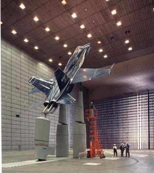NASA - IMAGE ARCHIVE: Wind Tunnel at NASA Ames Research Center
