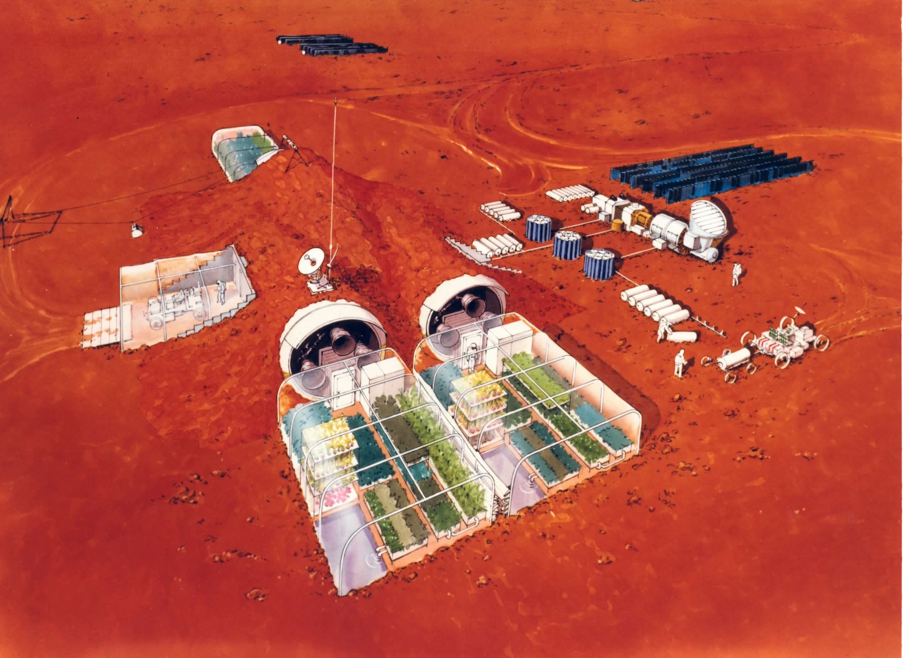 Mars space colony rockets could be ready in 10 years for Finding a builder