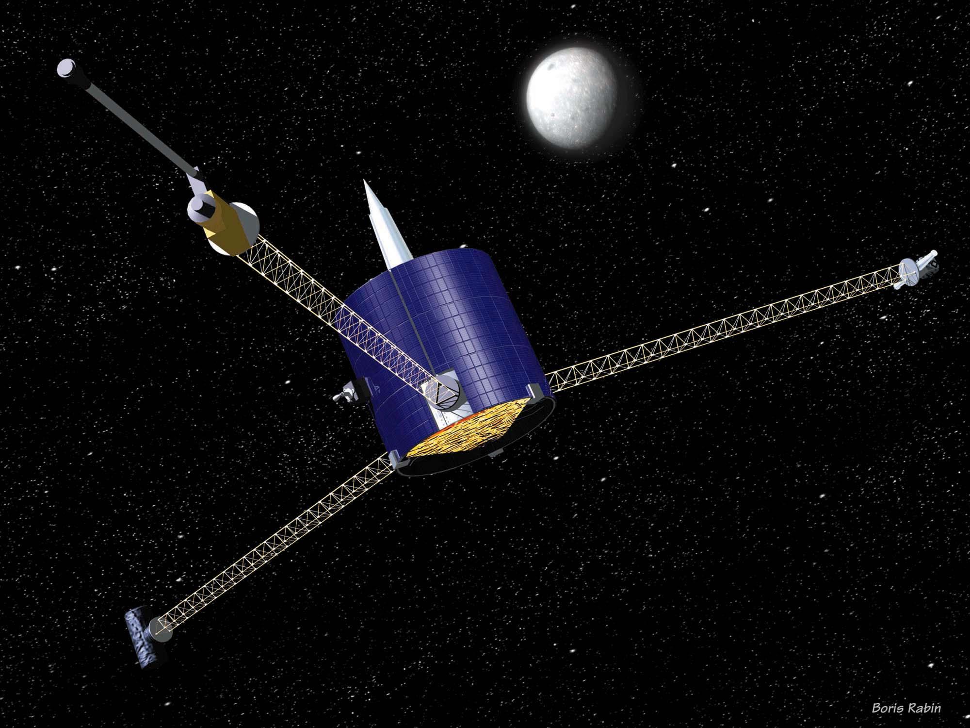 lunar prospector spacecraft - photo #7