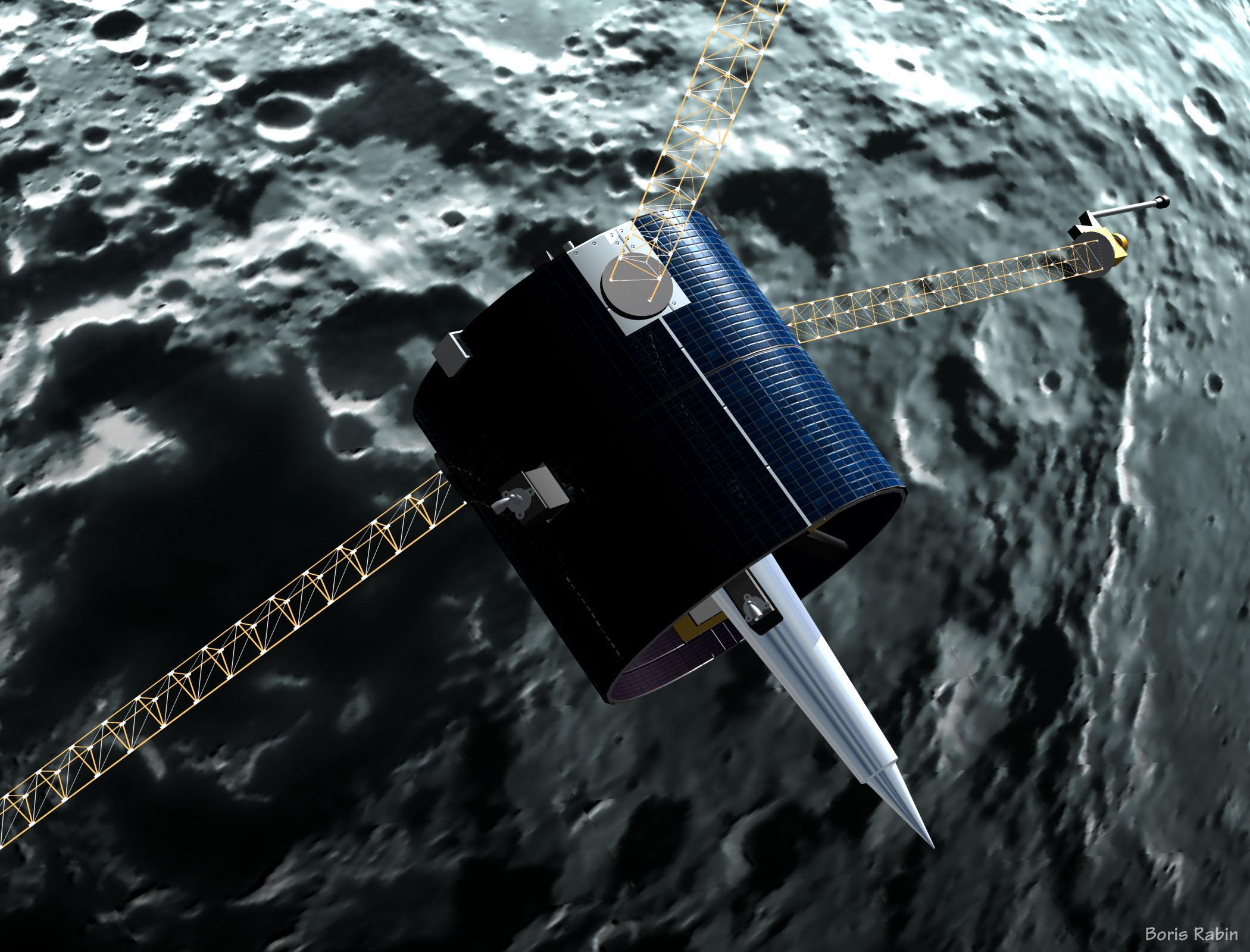 lunar prospector spacecraft - photo #14