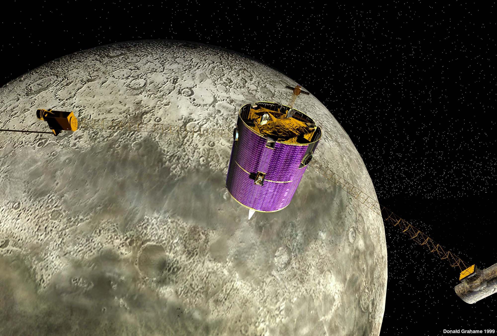 lunar prospector spacecraft - photo #19