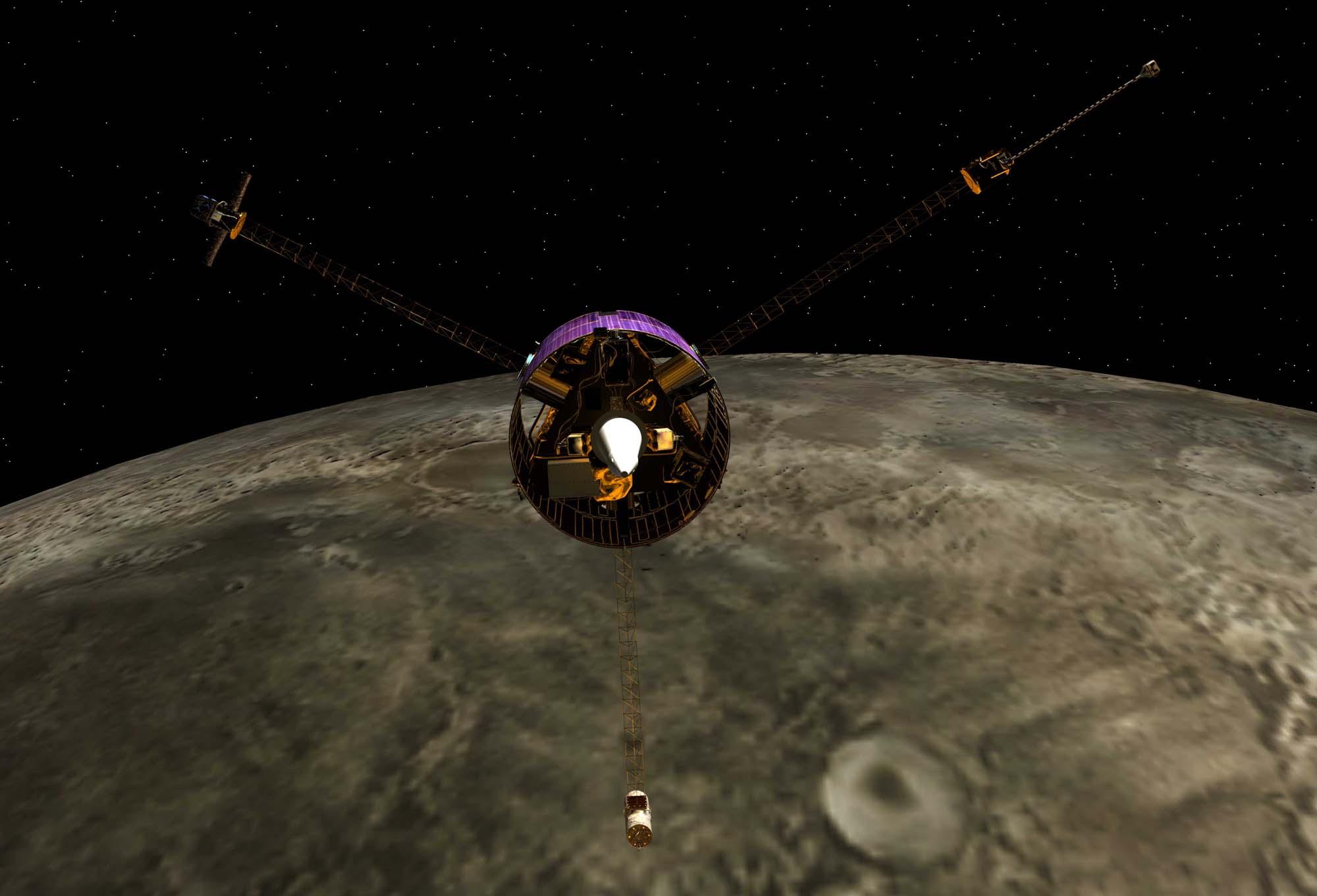lunar prospector spacecraft - photo #25