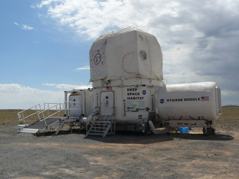 Deep Space Habitat Test with Hygiene Module