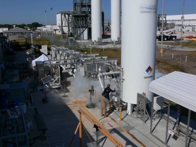 Cryogenic Test bed Laboratory at Kennedy Space Center