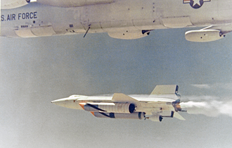 X-15A-2 drop from B-52