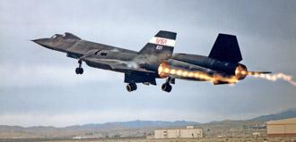 SR-71 takeoff