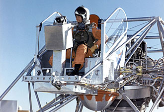 Joe Walker in the cockpit of a Lunar Landing Research Vehicle, NASA photo Source: NASA LLRV Fact Sheet 110452main_llrv1_330.jpg