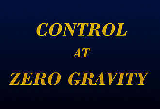 Control at Zero Gravity (Slide 12)