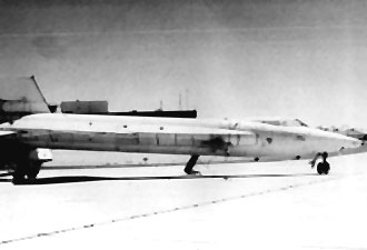 X-15 Checking the integrity of the new exterior. (Slide 26)