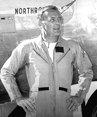 Dryden Research Pilot Milt Thompson