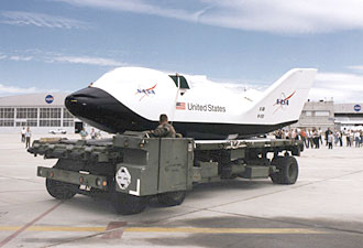 X-38 Emergency crew return vehicle