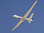 Remotely piloted Altair UAV in flight
