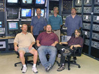 WATR communications group members include, seated from left, Tom Barlow, Justin Thomas and Mike Yettaw. Back row, from left, are Richard Batchelor, Doug Boston and Darren Mills.