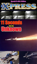 11 Seconds into the Unknown, flight of the X-43A