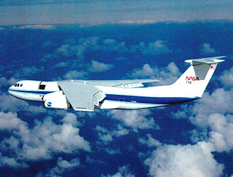The Kuiper Airborne Observatory is pictured during one of the missions flown  as part of a 21-year career